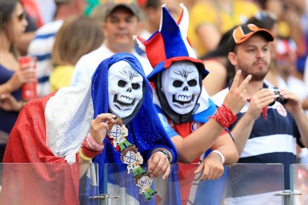 Soccer - FIFA World Cup 2014 - Group D - Costa Rica v England - Estadio Mineirao