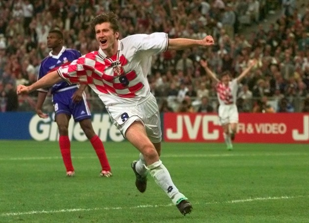 Soccer - 1998 World Cup - Semi Final - France v Croatia - Stade de France
