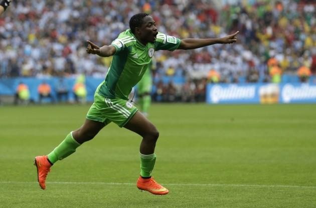 Brazil Soccer WCup Nigeria Argentina