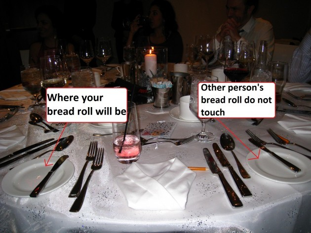breadroll  sc 1 st  The Daily Edge & The 8 rules of table manners everyone needs to know · The Daily Edge