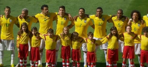 Brazil team anthem