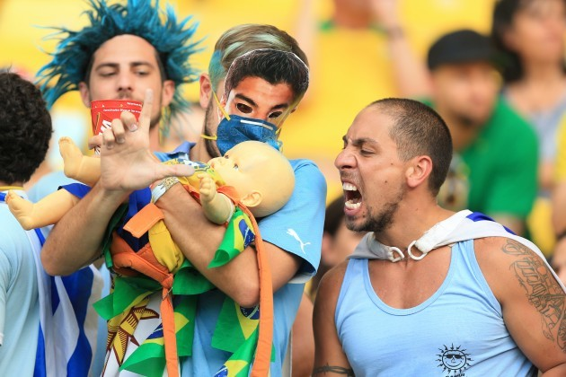 Soccer - FIFA World Cup 2014 - Round of 16 - Colombia v Uruguay - Estadio do Maracana