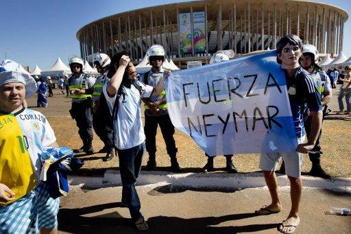 Brazil WCup Soccer Argentina Belgium