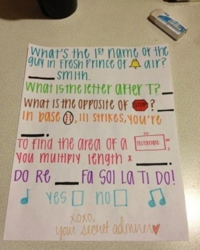 Creative ways to ask a girl out on a date