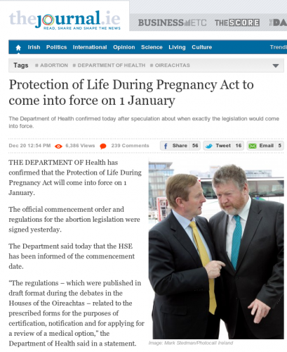 a history of abortion in ireland and the pro choice and pro life side of the issue Abortion history timeline 1959 the the first issue of national right to life president bush vows that the radically pro-abortion freedom of choice act.