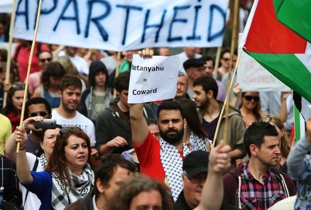 Gaza protest