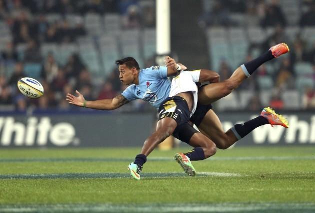 Australia Waratahs Brumbies Rugby