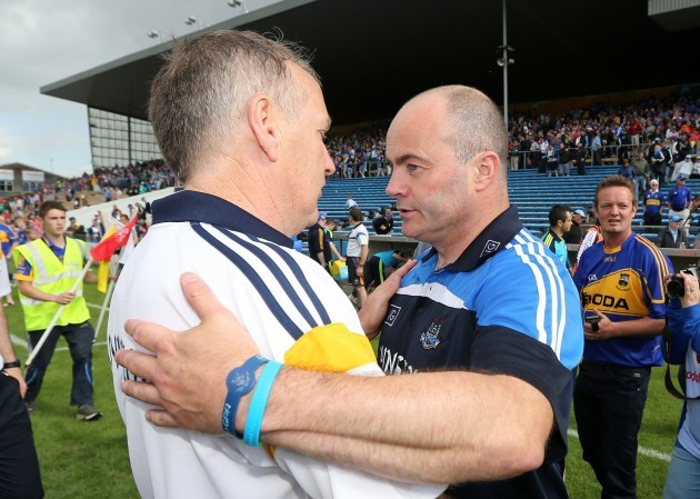 Eamonn O'Shea and Anthony Daly