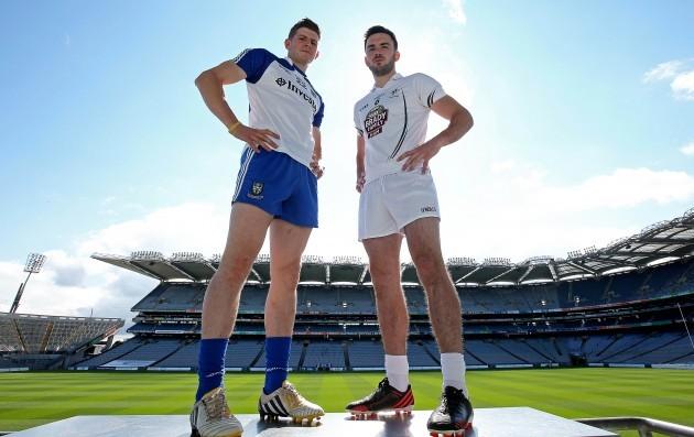 Darren Hughes and Fergal Conway