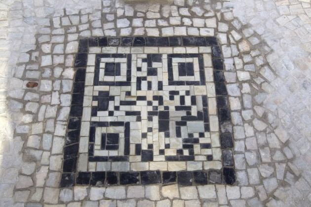 Brazil Sidewalk Bar Codes