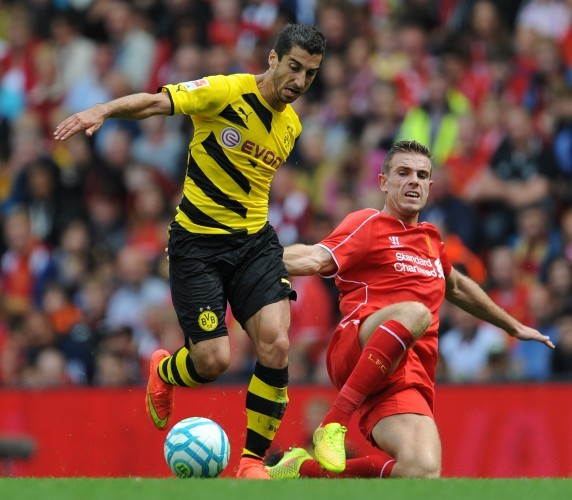 Soccer - Pre Season Friendly - Liverpool v Borussia Dortmund - Anfield