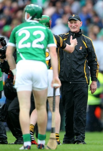 Brian Cody after the game
