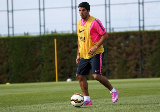 Soccer - FC Barcelona - Training - Ciudad Deportiva Joan Gamper