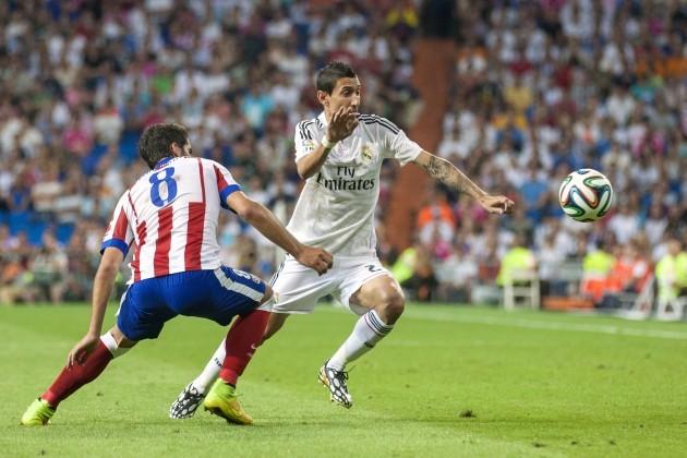 Soccer - Spanish Super Cup - First Leg - Real Madrid v Atletico Madrid - Santiago Bernabeu
