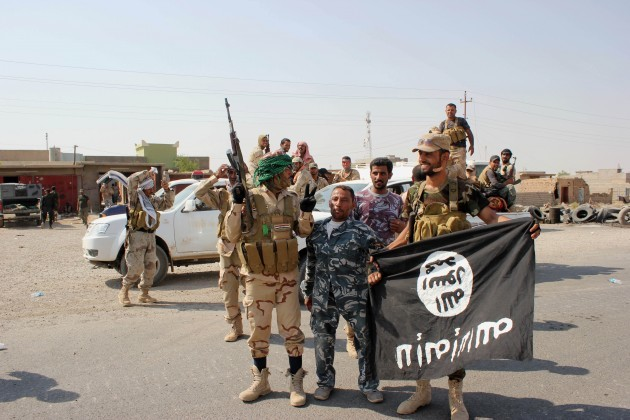 Mideast Iraq Blocking Jihadis