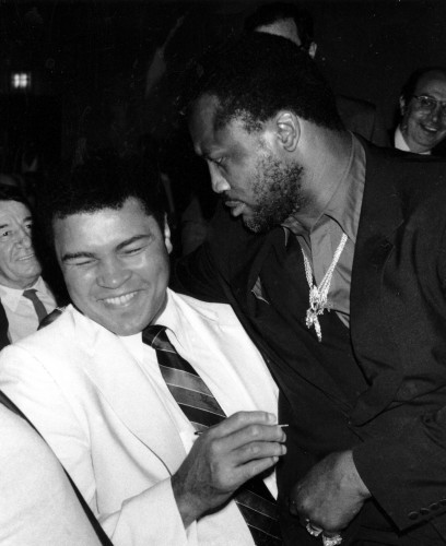Joe Frazier and Muhammad Ali - New York