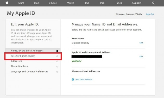 how to get into icloud without verification code
