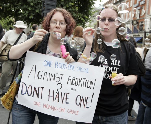 Pro-life and pro-choice Christian organizations in the UK?