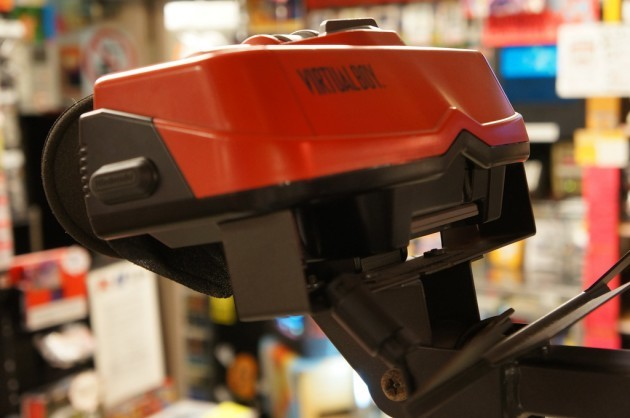 Try out a virtual boy? Yes please!