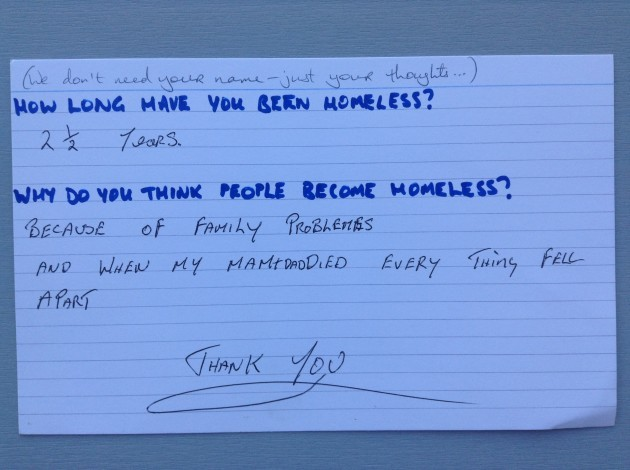 Homeless People Answer The Questions Theyre Asked The Most Frequently