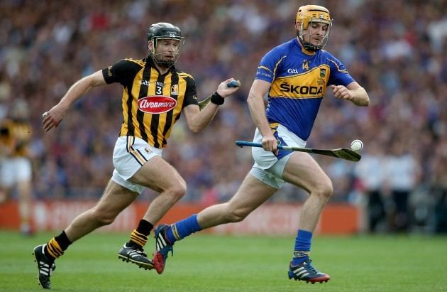 Seamus Callanan with JJ Delaney