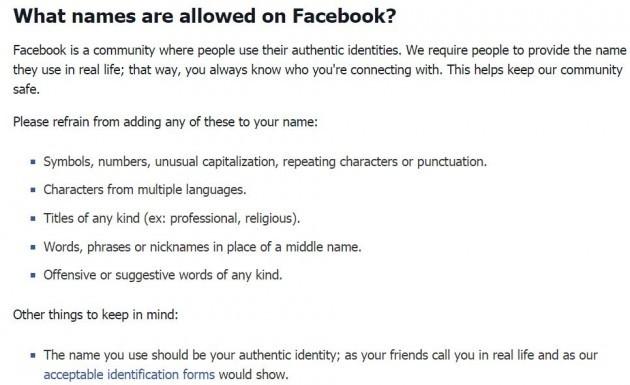 facebooknames