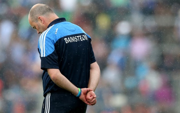 Anthony Daly dejected