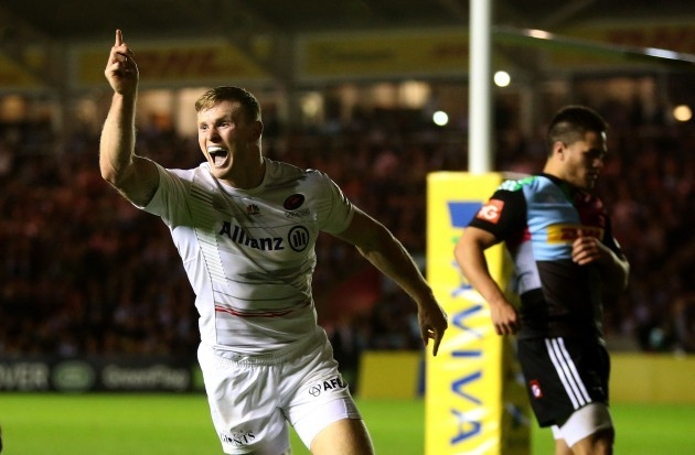 Rugby Union - Aviva Premiership - Harlequins v Saracens - Twickenham Stoop