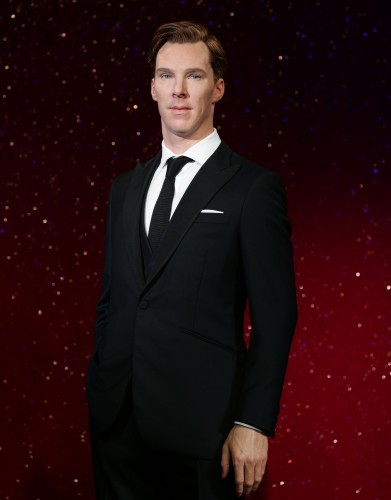 Cumberbatch wax figure