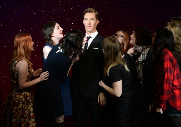 Benedict Cumberbatch Waxwork at Madame Tussauds - London