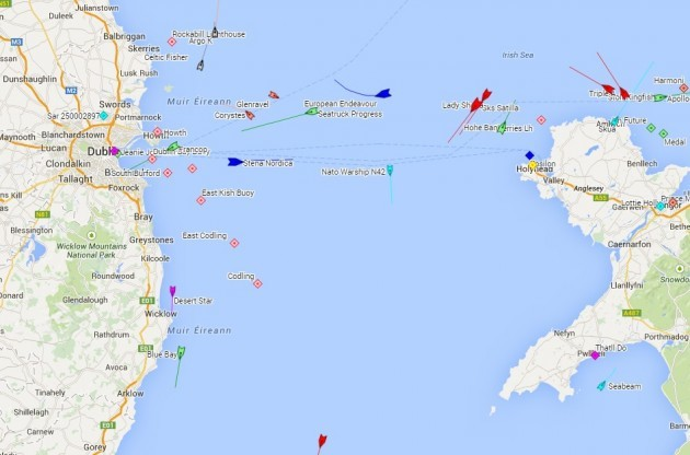 Why are 8 NATO warships in the Irish Sea right now ...