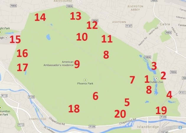 What are all those buildings in the Phoenix Park TheJournalie