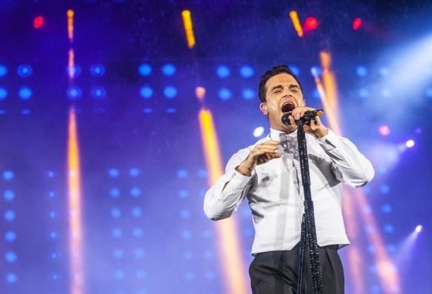 Singapore F1 Concerts Robbie Williams