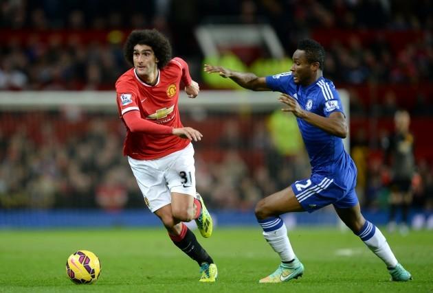 Soccer - Barclays Premier League - Manchester United v Chelsea - Old Trafford