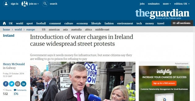 guardian water charges