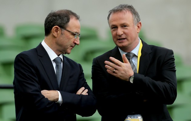 Martin O'Neill and Michael O'Neill