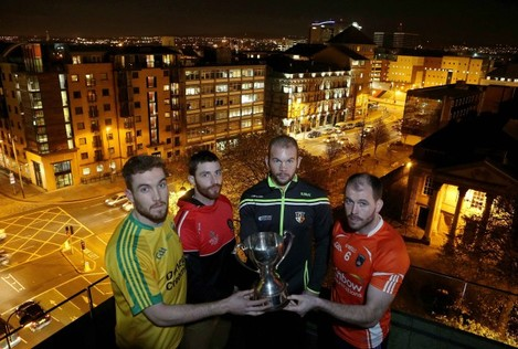 2015 Bank of Ireland Dr McKenna Cup Launch