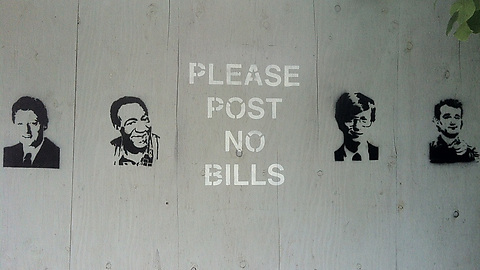 Post no bills!