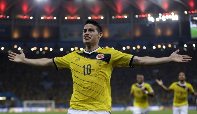 Colombia Soccer James Rodriguez