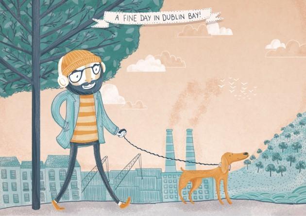 Tarsila-Kruse-A-Fine-Day-In-Dublin-Bay