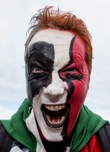 Munster fan Patrick Doyle