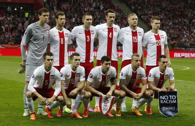 Poland Scotland Euro Soccer