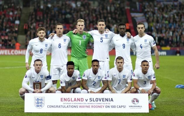 Britain England Slovenia Soccer