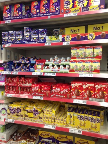 Tesco is already selling easter eggs the daily edge source valerie loftusdailyedge negle Gallery