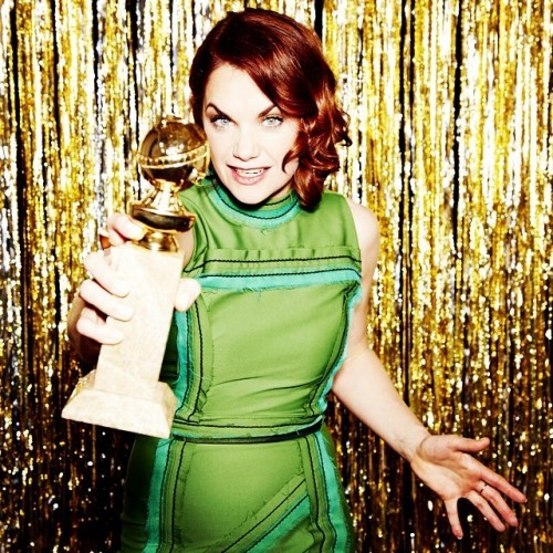 Ruth Wilson -- Best Actress in a TV Series, Drama, The Affair #goldenglobes (Photo by @ellenvonunwerth)
