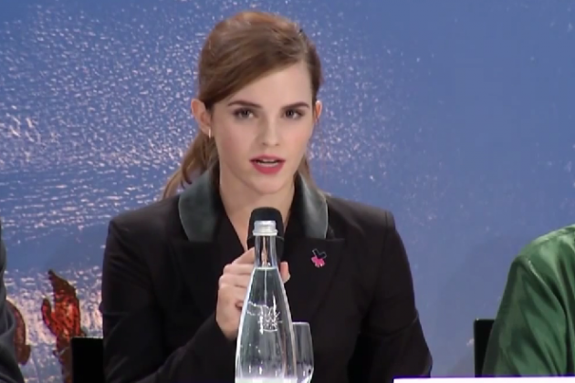 emma watson the world is held back because women aren t equal