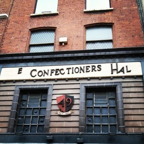 The Confectioner's Hall. #DublinGhostSigns