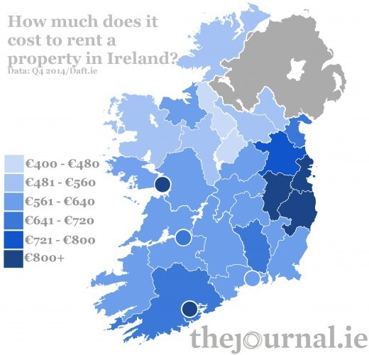 Here Is What It Costs To Rent A Property In Ireland
