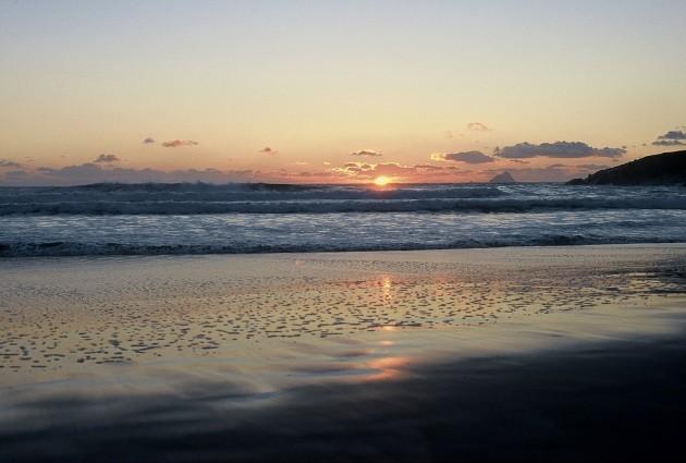 Sunset, Derrynane Bay