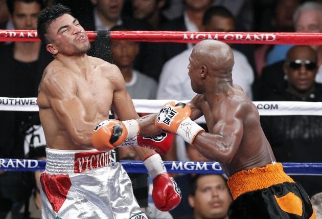 Mayweather Ortiz Boxing